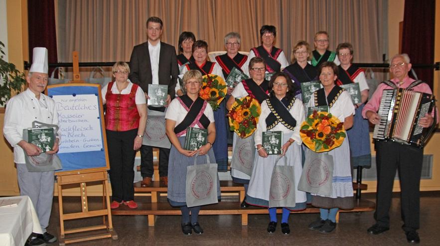 Kochbuchvorstellung am 27. Oktober 2013 im Johannesberg in Lauterbach